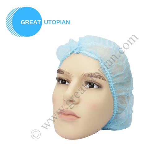 Great Utopian Sdn Bhd Clip Cap (Hair Net / Mop Cap)