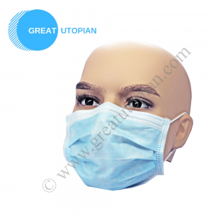 Great Utopian Sdn Bhd MEGA GUARD 3 PLY NON WOVEN FACEMASK EARLOOP