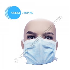 Great Utopian Sdn Bhd Megaguard 3 Ply Non Woven Facemask Tie On