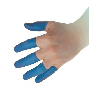 Great Utopian Sdn Bhd Blue Nitrile Finger Cots
