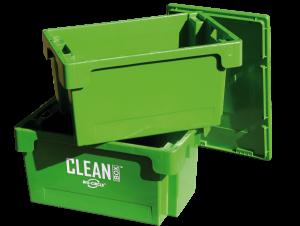 Great Utopian Sdn Bhd CLEAN BOX mit Deckel und Tauchkorb